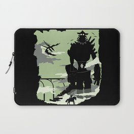 Silhouette of the Colossus Laptop Sleeve