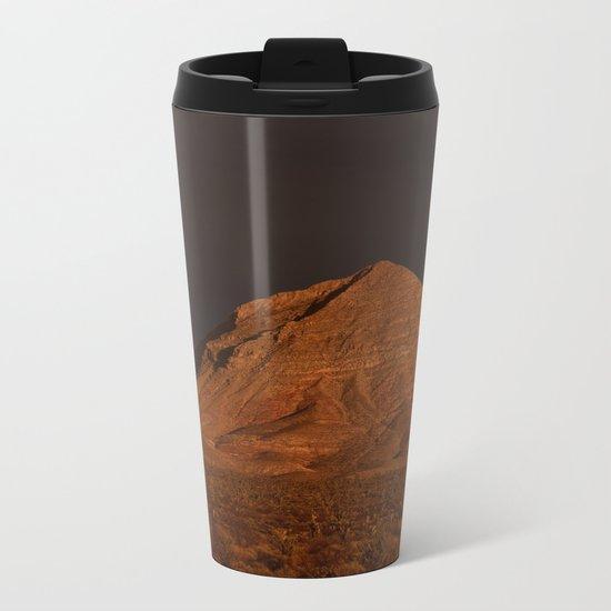 Desert Alpenglow Metal Travel Mug