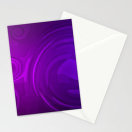 violet abstract rings  creative abstract art rings patterns violet backgrounds abstract patterns Stationery Cards