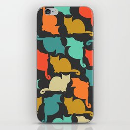 Cats and kittens iPhone Skin