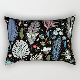 Fairy Tale Magic Garden Pattern Rectangular Pillow