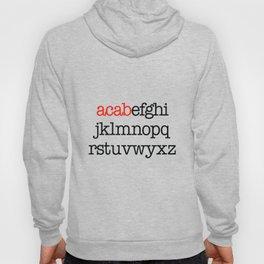 ACAB Alphabet Hoody