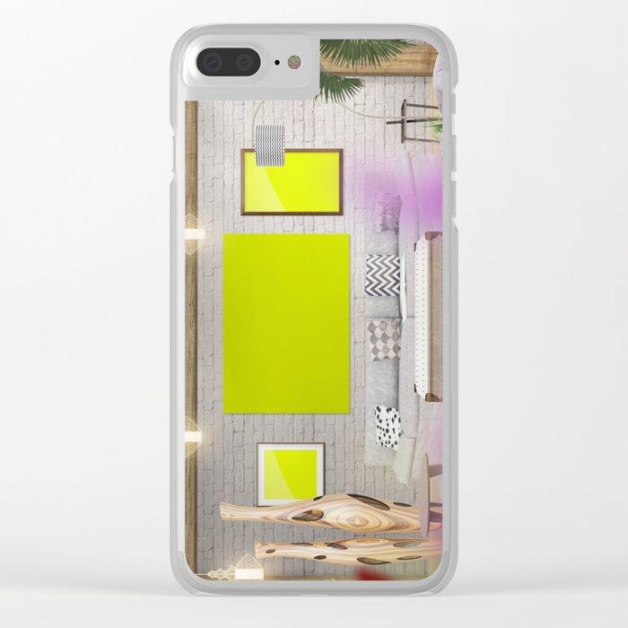 6 Scene Clear iPhone Case