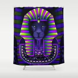 KING Vibez Shower Curtain