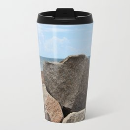 Heart-Shaped Rock Travel Mug