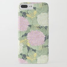 Hydrangeas and Butterflies - Such A Perfect Summer Day iPhone 7 Plus Slim Case