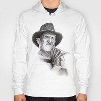 freddy krueger Hoodies featuring Freddy krueger nightmare on elm street by calibos