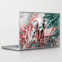 silent Laptop & iPad Skins featuring Elephant's Silent Cries  by Eduardo Doreni
