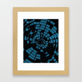 Abstract Dartboard Framed Art Print