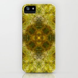 Between Moss and Summer iPhone Case