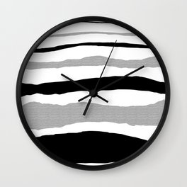 One step at a time I Wall Clock