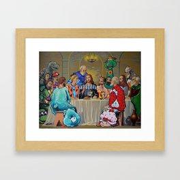 The Last ComicCon Framed Art Print