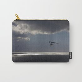 flying over the ocean 4 Carry-All Pouch