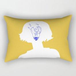 Bad Idea Rectangular Pillow