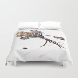 Becomes Us Duvet Cover