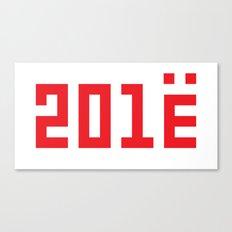 201Ё / New Year 2013 Canvas Print