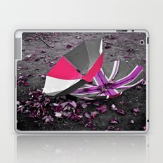 She came in with the Autumn wind- pink Laptop & iPad Skin