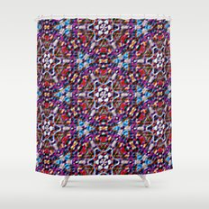 Six-pointed star - High relief Shower Curtain