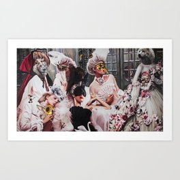 """ The wolf wears Dolce and Gabbana"" Art Print"