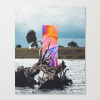 Canvas Prints featuring H/26 by Dorian Legret