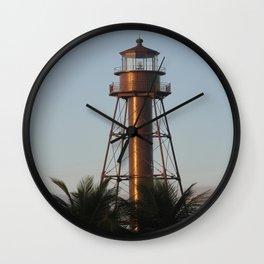 Sanibel Light Wall Clock