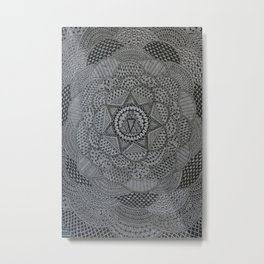 zentangle09/17 Metal Print