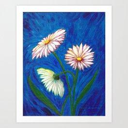 Daises Art Print