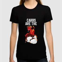 Carbs Are The Devil T-shirt