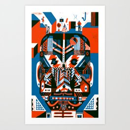 Homunculus Art Print