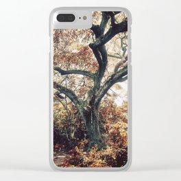 Crimson Fate - Magical Realism Life Clear iPhone Case