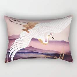 Elegant Flight III Rectangular Pillow