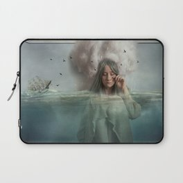 The Blue Girl Laptop Sleeve