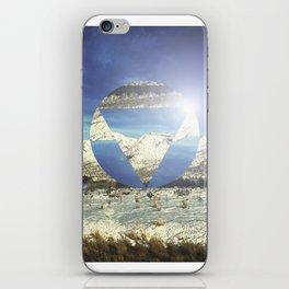 Snowy Earth iPhone Skin