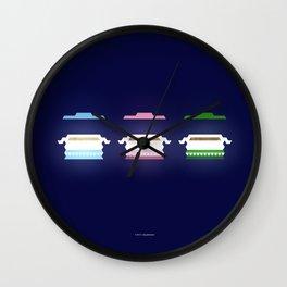 HAREES + THREED + MATHROOBA Wall Clock