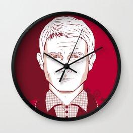 Sherlock II - Martin Freeman Wall Clock