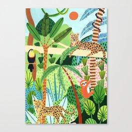 Jungle Pals Canvas Print