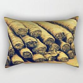 Cigars Rectangular Pillow