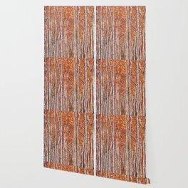 Aspen Forest Artpiece Wallpaper