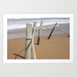 Beautiful Beach Landscape Art Print