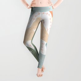 Your Eyes Are Following Me Leggings