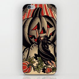 pumpkin of ages iPhone Skin