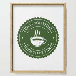 Tea Quote Serving Tray