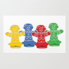 Candy Board Game Figures Rug