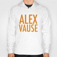 alex vause Hoodies featuring Alex Vause (2) by Zharaoh