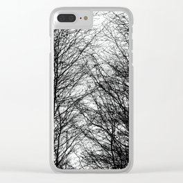 Tree Silhouette Series 8 Clear iPhone Case