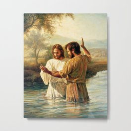 John The Baptist Metal Print