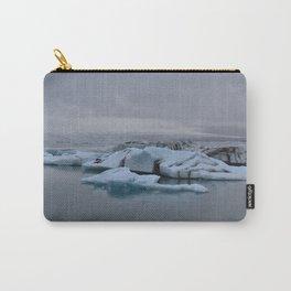 Beautiful glacial lake Jökulsárlón Carry-All Pouch