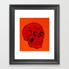 red phantom Framed Art Print