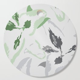 FLORAL ABSTRACTION 2 Cutting Board