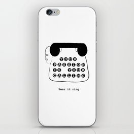 Your passion is your calling iPhone Skin